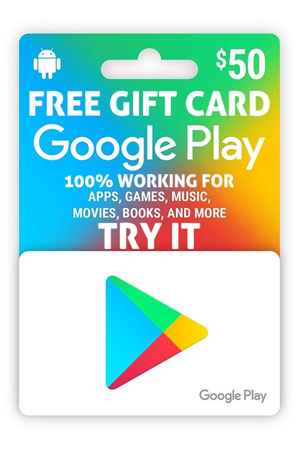 How To Generate Free Google Play Codes Or Gift Card In 2019 Google Play Codes Gift Card Generator
