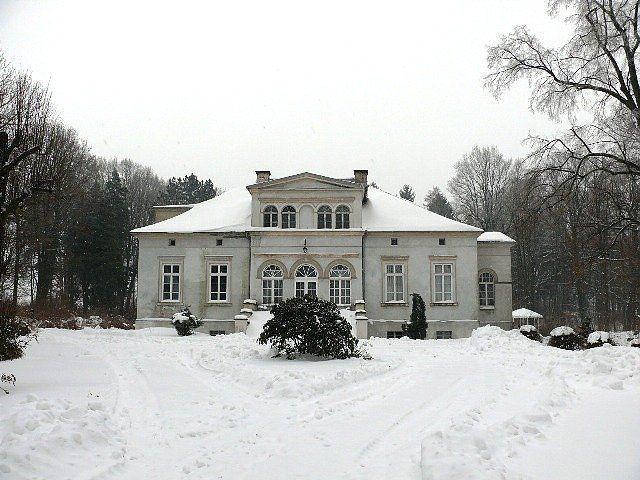 XIX c. Pałac Grabiszyce Górne, gmina Leśna, woj. Dolnośląksie