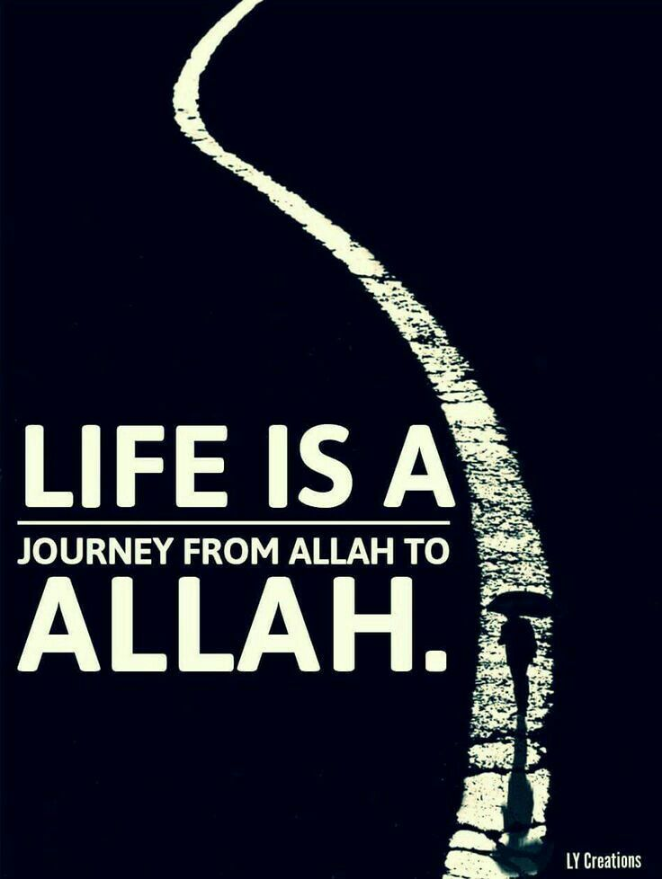 Allah ♡ he never said we would walk alone.