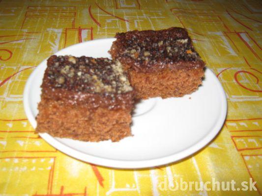 Fotorecept: Cuketový koláč