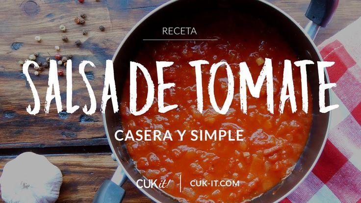 Receta de Tuco / Salsa de Tomate - CUKit!