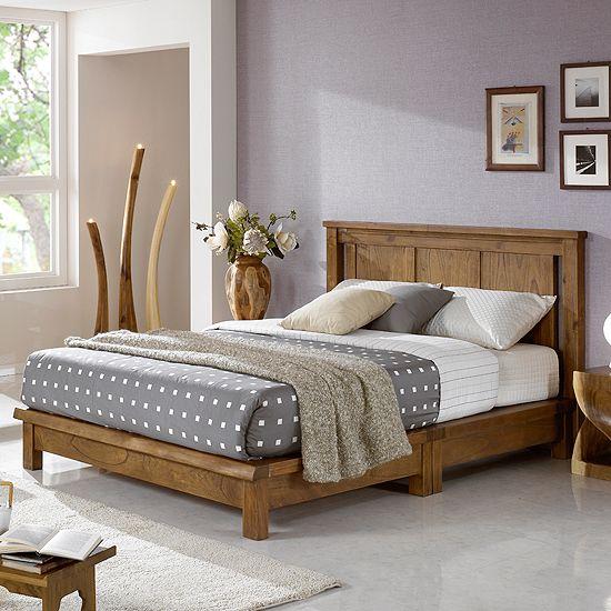 Tempat Tidur Sky Wood (Queen)