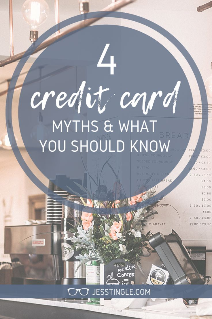 Credit Cards Are A Bad Idea // Credit Card Myths and What You Should Know // Are…