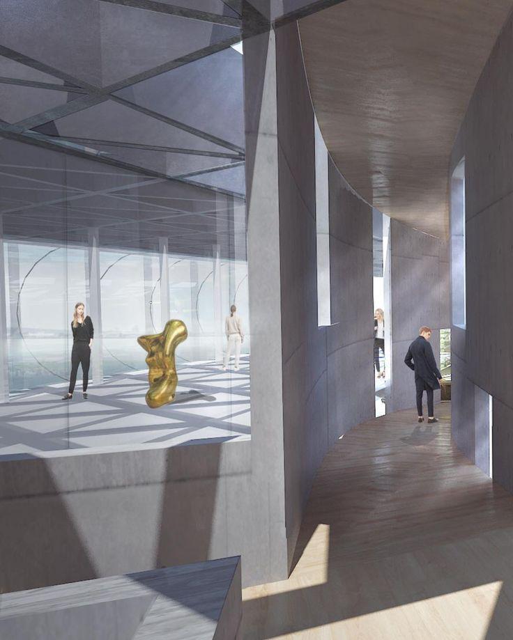 nylm inner space . #architecture #space #museum #movement #structure #construction #building #model #cities #human #nature #ideas #visual #photo #gallery #newyork #city #concept #art #design #sculpture #style #jeanarp #mindfulness #inspiration #creative #studio #amsterdam #zu #zustudioarchitecture