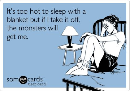 exactly what i think when i go to bed