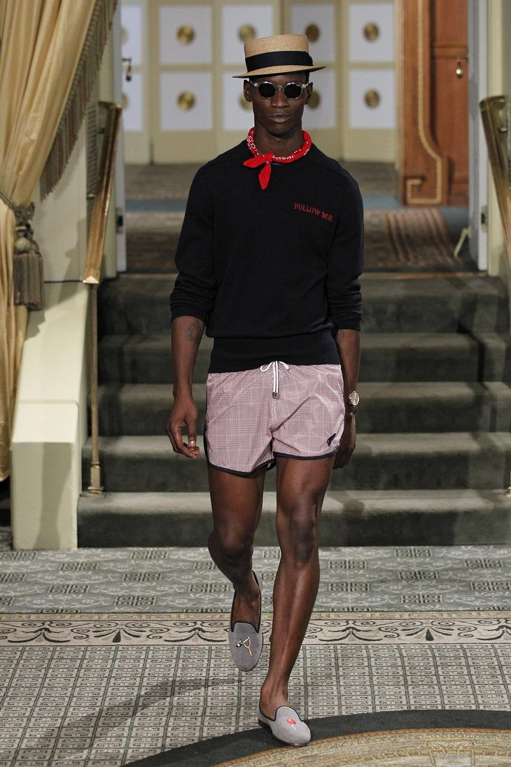 Adonis Bosso for Michael Bastian SS 2014 Menswear