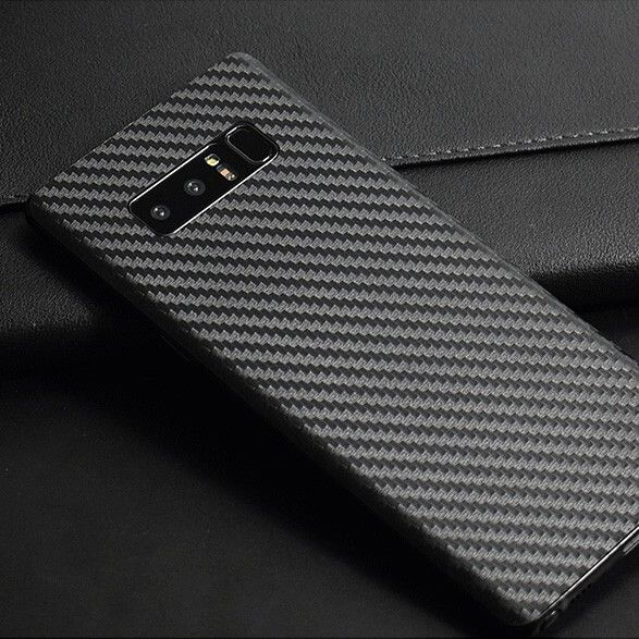 2x Samsung Galaxy Note 8 Rear Back Protection Film Skin Carbon Fiber Clear  -  Transparent Carbon Fiber Back Film Protection. Easy to install, just stick the protector on the back of your phone and it will not ruin the original look of your phone