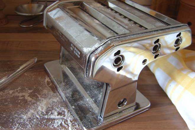 Pastamaschine reinigen