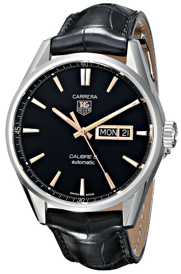 TAG Heuer Men's watches THWAR201CFC6266 Carrera Analog Display Swiss Automatic Black Watch