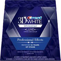 Crest 3D White Whitestrips Professional Effects