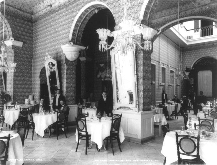 Café de La Habana. 1900.