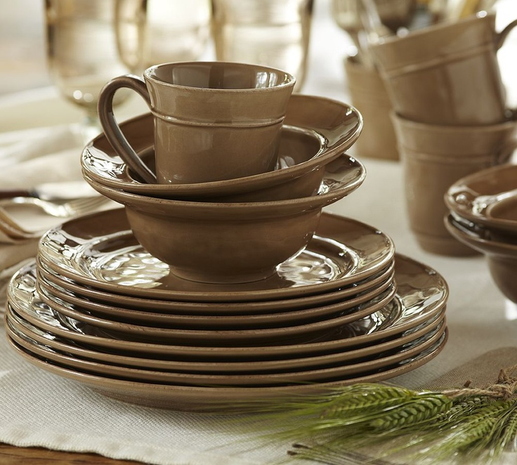 pottery barn dishes the exact type i found at goodwill today - Stoneware Dishes