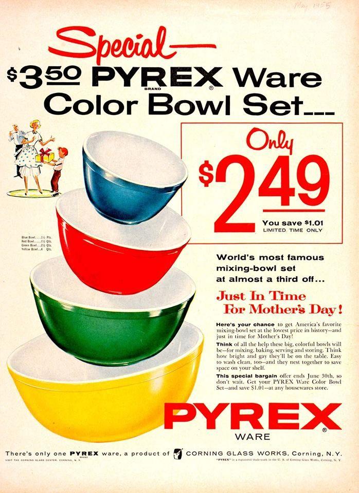 give time saving pyrex ware - 654×900
