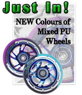 Brand New Wheel Colours