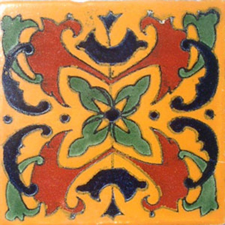 C 019 9 Mexican Tiles Lot Talavera Mexico Ceramic Art Clay Ebay