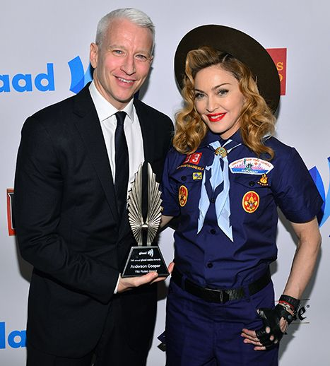 Anderson Cooper Reveals Why He Is Afraid of Madonna :: MadonnaGlam