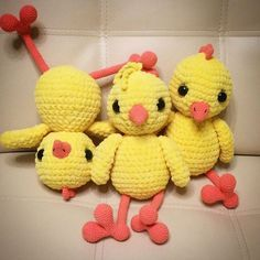 Free crochet cuddly chicken pattern #crochet #amigurumi