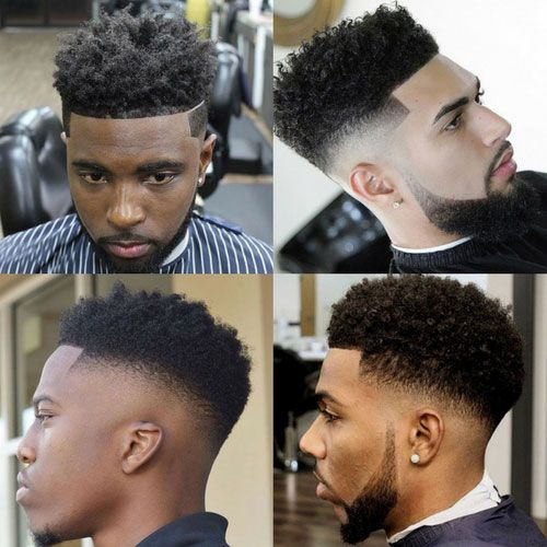 Curly High Top Fade - Curls With Fade