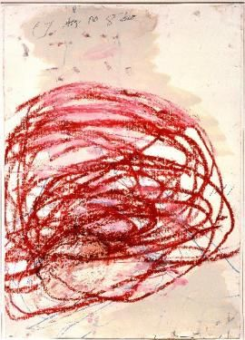 Rarely seen Cy Twombly painting on display at the Menil - 29-95