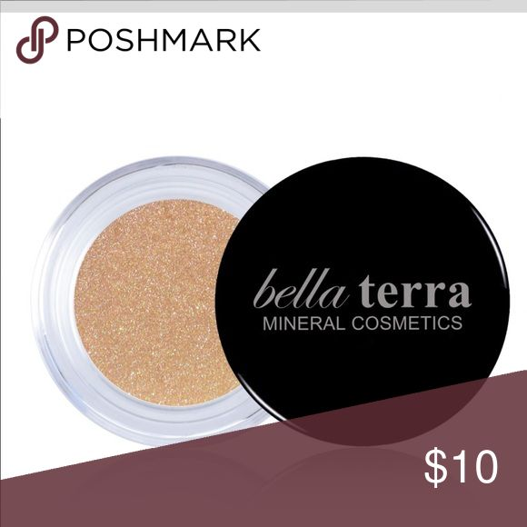 Bella Terra Cosmetics Mineral Eye Shimmer BRAND NEW!!! Mineral Eye Shimmer Color: Sand 2.35 grams Bella Terra Mineral Cosmetics Makeup Eyeshadow