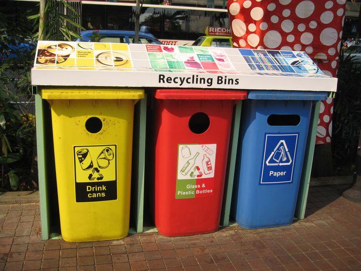 bins with info recycling ideasmoney