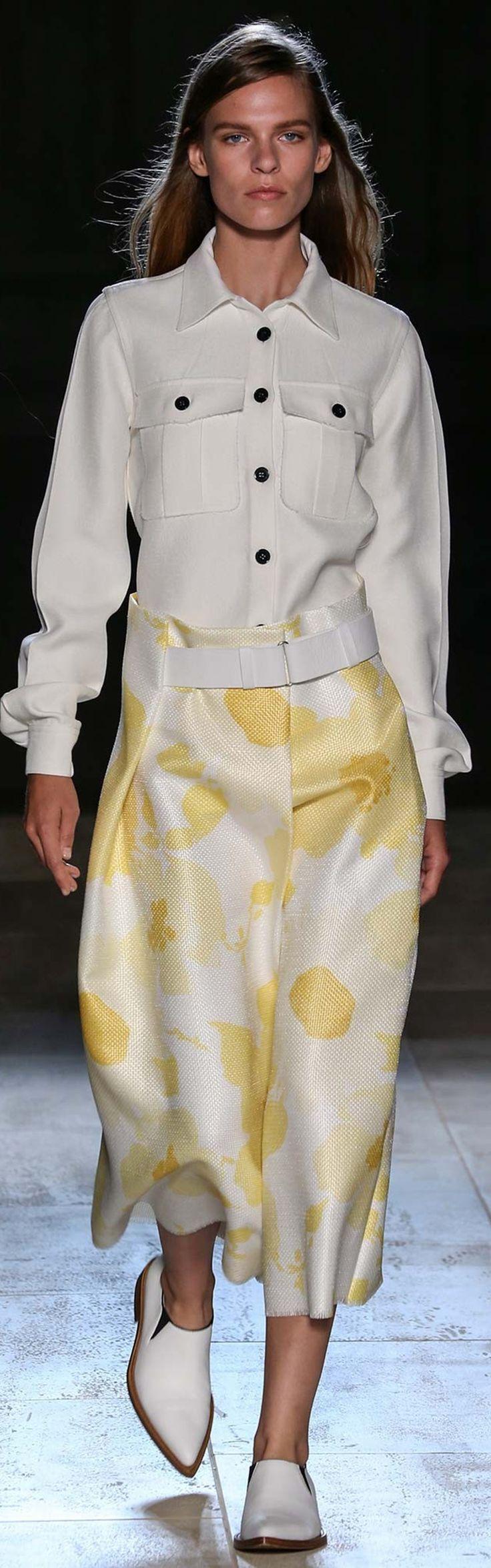 Victoria Beckham spring/summer 2015 collection – New York fashion week