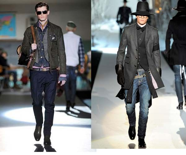 Dsquared2 Autumn Winter 2012 - Sleek, Chic Urban Street Wear - Men Style Fashion