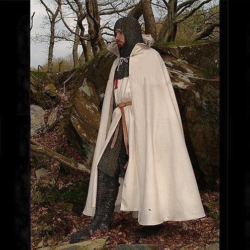 Medieval Pure Woollen Cloak - 4 Colours