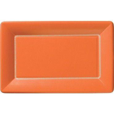 Orange Plates