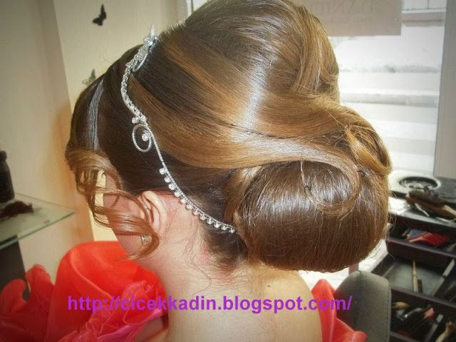 Çiçek Kadın: Düğün Saçları, Gelin Saçları