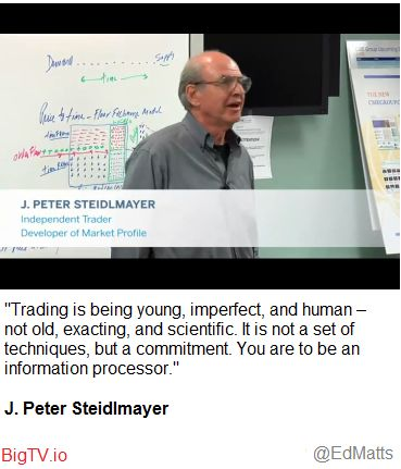 Trading is human...
