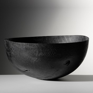 burnt wood bowl...