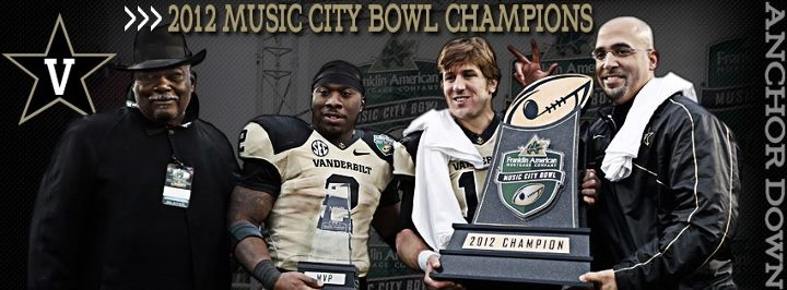 Music City Bowl Champs  12/31/12