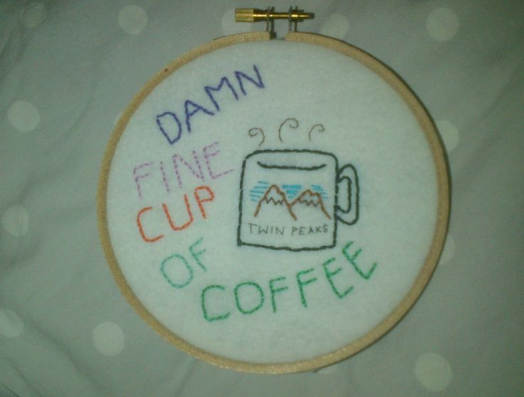 twin peaks / embroidery