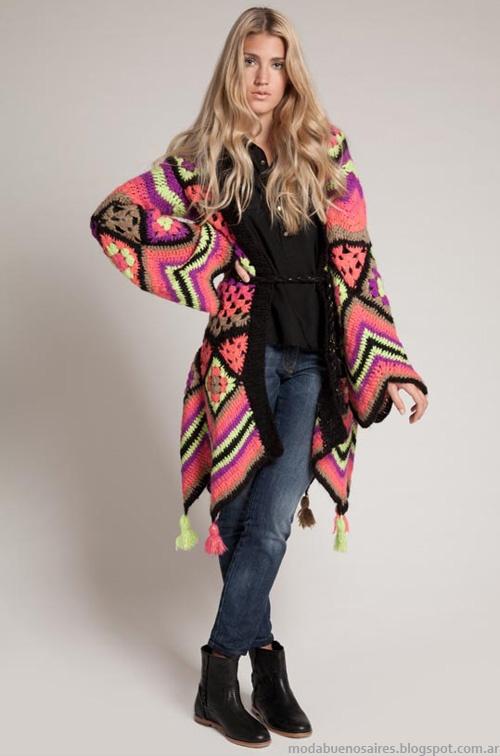 Sacos invierno 2013 moda Agostina Bianchi