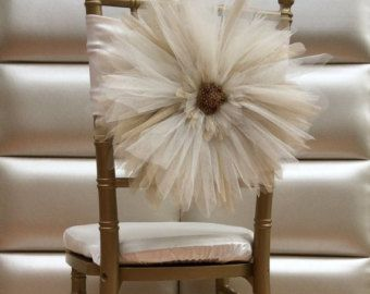 NEWchair coversWedding chair covers by FloraRosaDesign on Etsy