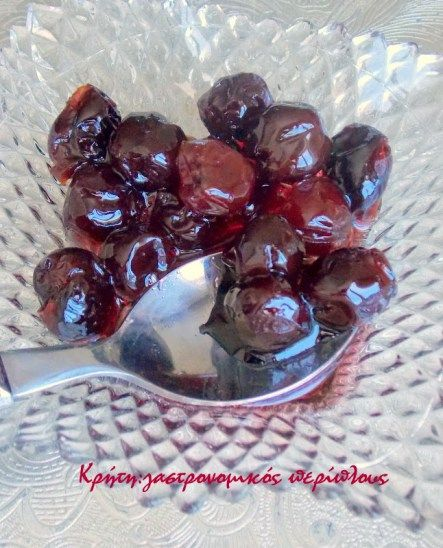 Βύσσινο γλυκό του κουταλιού – Κρήτη: Γαστρονομικός Περίπλους