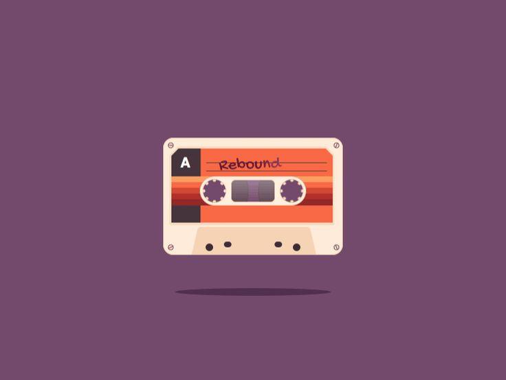 Bouncy Cassette by Stefan B. Aleksić