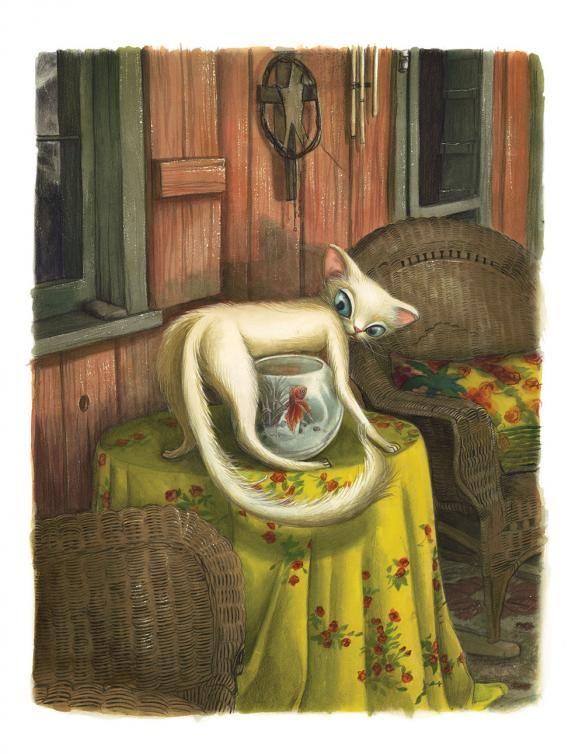 Benjamin Lacombe - Facéties de chats