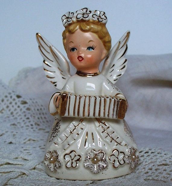 vintage china angel...