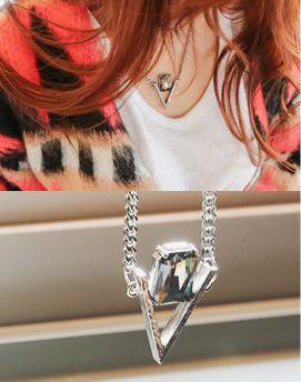 CZ Pendant Chain Necklace