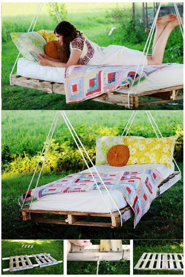 Pallet swing bed!!!!!!!