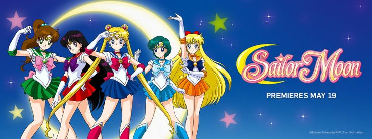 ALL of Sailor Moon streaming on Neon Alley starting May 19. Words cannot describe the joy I feel.