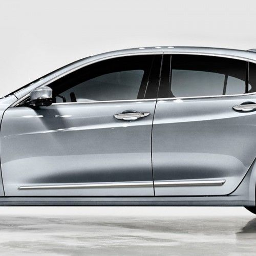 Acura TLX Chrome Body Side Molding 2015