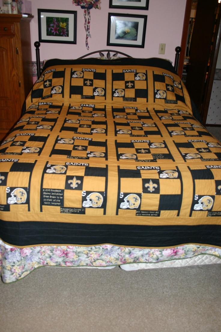 40 best Saints Quilts images on Pinterest | Big cats, Cotton ... : quilt shops in new orleans - Adamdwight.com