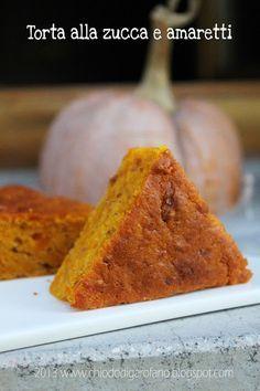 chiodo di garofano: Torta di zucca e amaretti