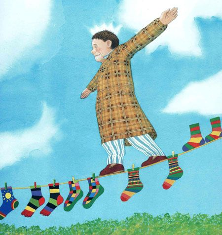 Anthony Browne: My Dad, illustration by Anthony Browne