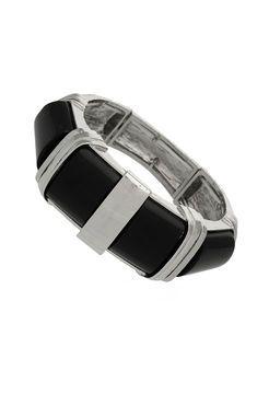 Silver Bone Look Bracelet by Wallis - $21