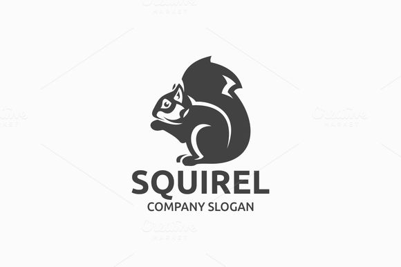 Squirel Logo by @Graphicsauthor