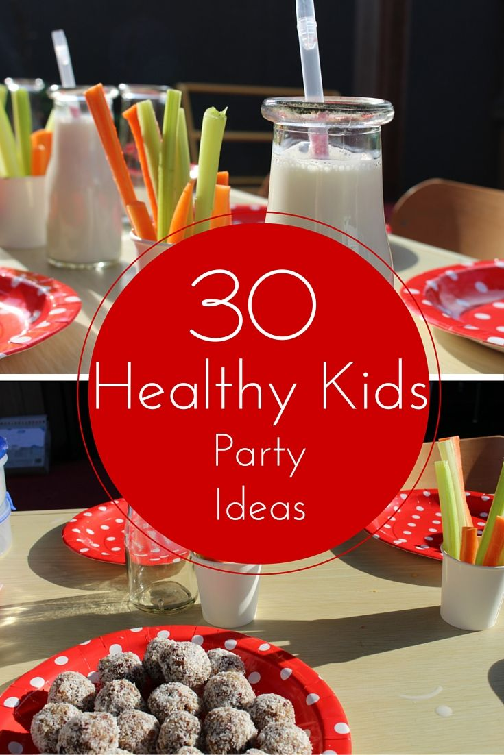 Trying to avoid a bunch of #sugar high #kids are your next bash - check out these #healthy #party #ideas - Mamma Raj Says